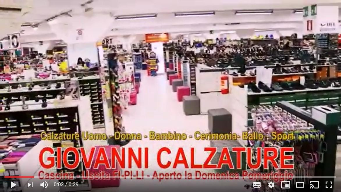 Giovanni Calzature negozio scarpe ed abbigliamento a Pisa